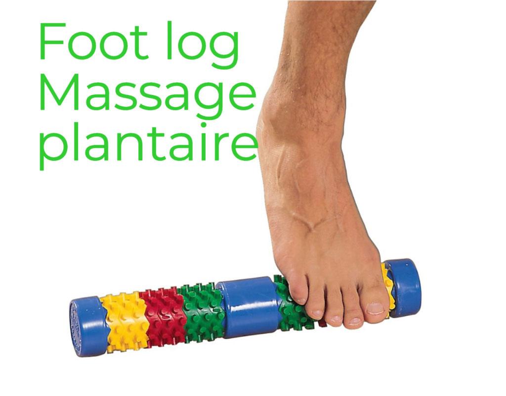 Foot Log Massage des Pieds